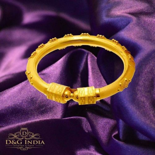 22Kt Goldites Gold Bangle from PC Chandra