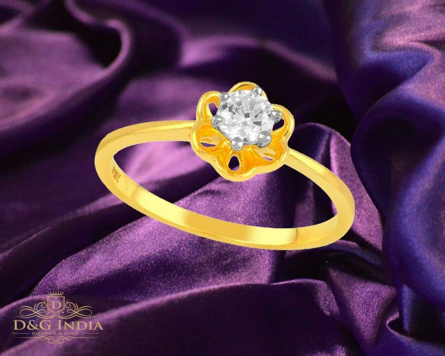 Diamond Solitaire Ring for Women